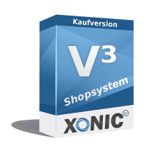 XONIC Professional Shopsoftware als Kaufversion